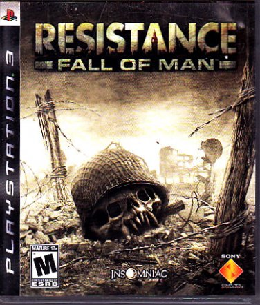 Resistance - Fall of Man - Playstation 3 Video Game   (combine shipping)
