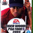 Tiger Woods PGA Tour 2004 - Xbox video game - COMPLETE  (combine shipping)