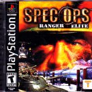 Spec Ops - Ranger Elite - Playstation 1 Video Game - COMPLETE  (combine shipping)