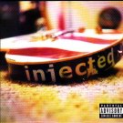 Injected - Burn It Black CD - COMPLETE