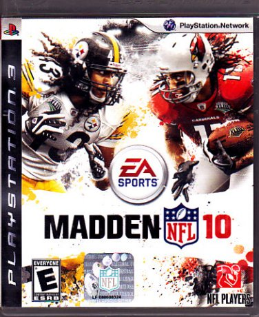Madden NFL 10 - Playstation 3 video game