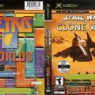Star Wars Clone Wars & Tetris Worlds - Xbox Video Game - COMPLETE (combine shipping)