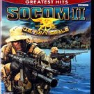 Socom II - US Navy Seals - PlayStation 2 Video Game - COMPLETE