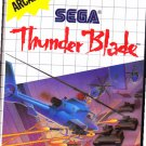 Thunder Blade - Sega Master System video game - COMPLETE  (combine shipping)