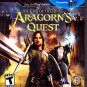 LORD OF THE RINGS ARAGORN'S QUEST - Playstation 3 Video Game - COMPLETE