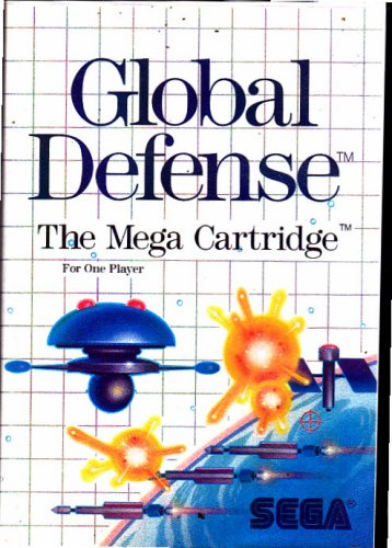 Global Defense (1987) - Sega Master System video game - COMPLETE  (combine shipping)