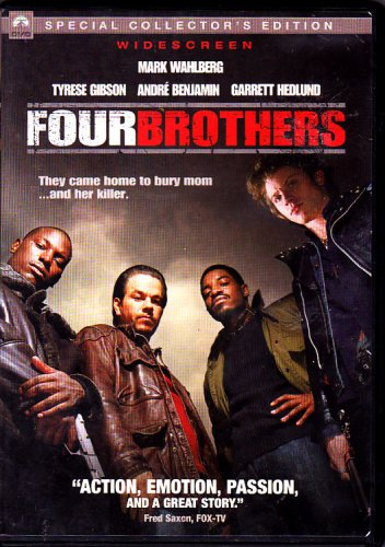 Four Brothers (DVD, 2005, Widescreen) - COMPLETE   (combine shipping)