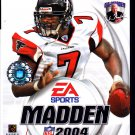 Madden NFL 2004 (Sony PlayStation 2, 2003) Video Game - COMPLETE   (combine shipping)