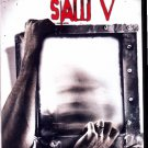 Saw V (DVD, 2009, Widescreen Version; Unrated Director's Cut) - COMPLETE (combine shipping)