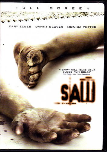 Saw (DVD, 2005) - COMPLETE (combine shipping)