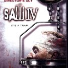 Saw IV (DVD, 2008, Widescreen) - COMPLETE (combine shipping)