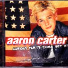 Aaron Carter - Aaron's Party (Come Get It) CD - COMPLETE (combine shipping)