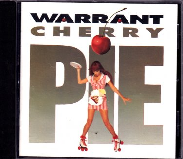 Warrant - Cherry Pie CD - COMPLETE * combined shipping