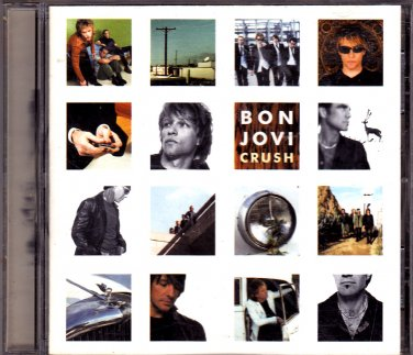 Bon Jovi - Crush 2000, BMG CD - COMPLETE * combined shipping