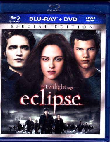 The Twilight Saga - Eclipse Blu-ray/DVD, 2010 - COMPLETE * combined shipping