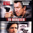 15 Minutes DVD - COMPLETE * combined shipping