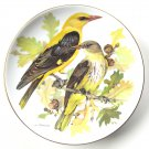Golden Oriole WWF World Wildlife Fund Tirschenreuth porcelain plate 1986