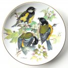 Great Titmouse WWF World Wildlife Fund Tirschenreuth porcelain plate 1986