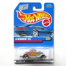 Hot Wheels 3 Window 34 Collector No 257 Diecast 1997