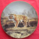 Royal Bengal Tiger WS George Worlds Most Magnificent Cats porcelain plate 1991