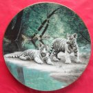 Partners WS George Natures Playmates porcelain plate 1991