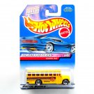 Hot Wheels Yellow School Bus Street Art Series Collector No 952 Diecast 1999