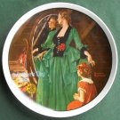 Norman Rockwell Vintage Mothers Day 1984 Edwin M Knowles wall plate