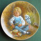 John McClelland Mother Goose Little Boy Blue Reco plate 1980