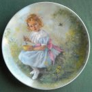 John Mc Clelland Mother Goose Little Miss Muffet Reco plate 1981