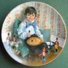 John Mc Clelland Mother Goose Little Jack Horner Reco plate 1982