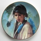 Shining Feather Daughters Of The Sun Karen Thayer Hamilton Collection Plate 1993