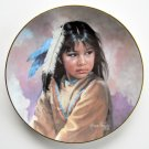 Secret Glance Daughters of the Sun Karen Thayer Hamilton Collection plate 1993