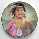 Delighted Dancer Daughters of the Sun Karen Thayer Hamilton Collection plate 1993