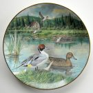 Bart Jerner Pintail Living With Nature Knowles Collection Plate 1986