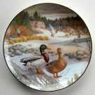 Bart Jerner Mallard Living With Nature Knowles Collection Plate 1986