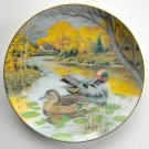Bart Jerner Green Winged Teal Living With Nature Knowles Collection plate 1987