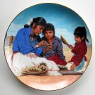 Power Of The Basket Proud Indian Families Kenneth Freeman Hamilton Collection plate 1991