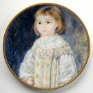 Child In White Pickard Children Of Renoir Plate