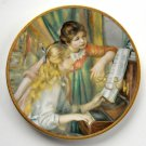 At The Piano Pickard Children Of Renoir plate
