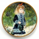 A Girl With A Watering Can Pickard Children Of Renoir plate