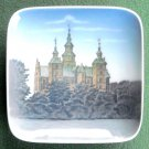 Rosenborg Castle Royal Copenhagen small square dish 1980