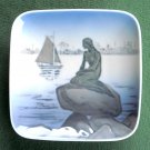 Royal Copenhagen Little Mermaid Square Dish Plate 1961