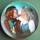 Chuck Oberstein Kiss for a Clown Hackett Fairmont plate 1981