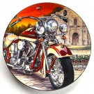 Alamo Sundown Easyriders Marc Lacourciere Hamilton Collection Plate 1997