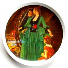 1984 Norman Rockwell Mothers Day Edwin M Knowles wall plate