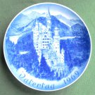 Castle Neuschwanstein Fathers Day 1969 Bareuther porcelain plate