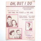 Vintage OH But I Do By Arthur Schwartz 1946 Sheet Music