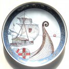 Vintage Stavangerflint Norway Norge Paa Langs Porcelain Plate