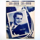 Chi Baba My Bambino Go To Sleep By Mack David 1947 Sheet Music