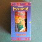 Pocahontas and John Smith Disney Classic Burger King plastic tumbler 1994